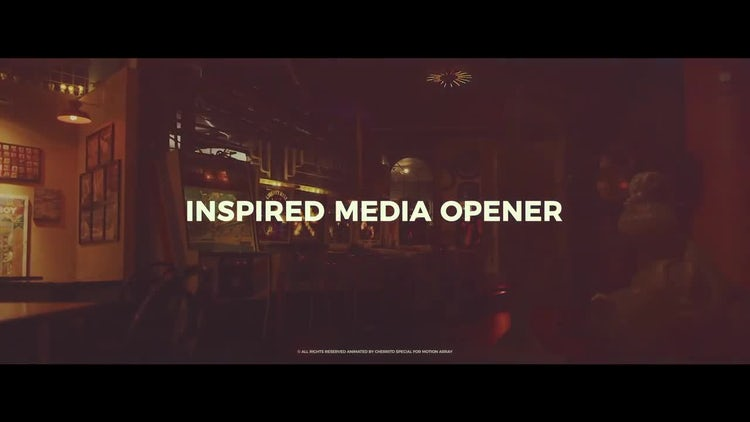 Inspired Media Opener: After Effects Templates