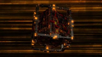 Techno Cube VJ Loop: Motion Graphics