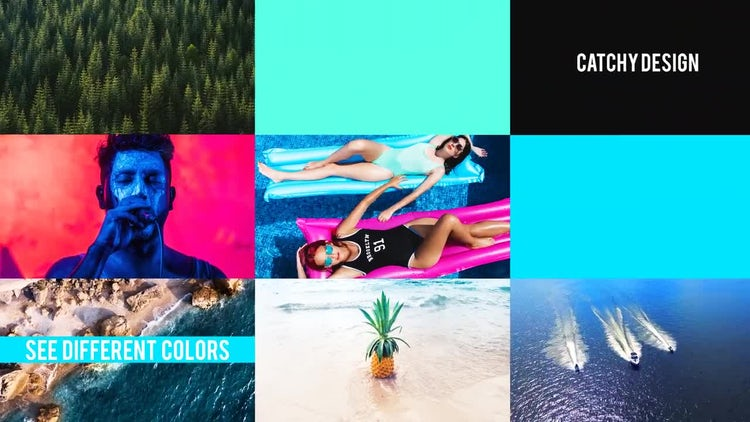 Simple Dynamic Slideshow: After Effects Templates