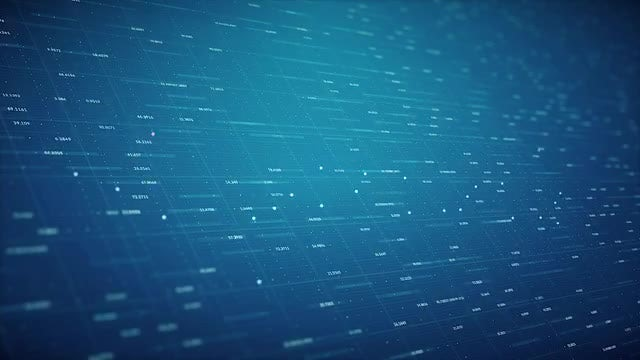 Technological Looped Background: Stock Motion Graphics