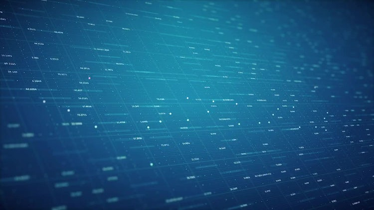 Technological Looped Background: Motion Graphics