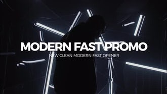 Modern Fast Slideshow: Premiere Pro Templates