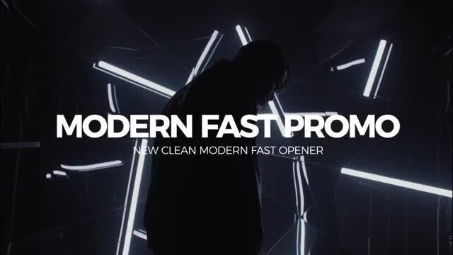 Modern Fast Slideshow: Premiere Pro Templates