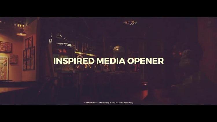 Inspired Media Opener: Premiere Pro Templates