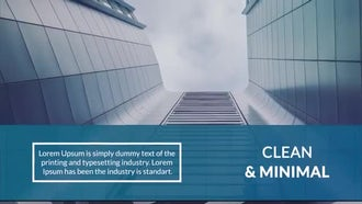 Minimal Corporate Slideshow: After Effects Templates