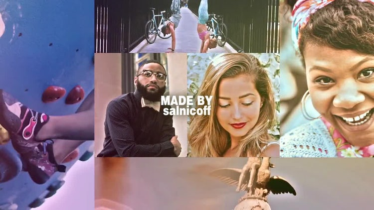 Modern Multiphoto Opener: After Effects Templates