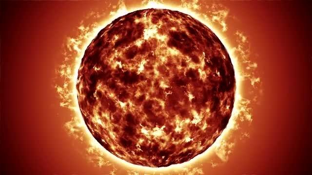 Sun Background: Stock Motion Graphics