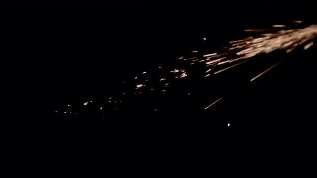 Metal Sparks: Stock Video