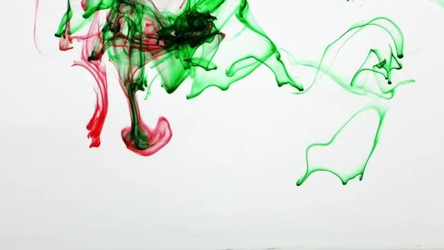 Colorful Ink Drop Spread 1: Stock Video