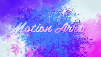 Watercolor Ink Logo: After Effects Templates