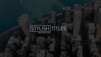 12 Clean Titles: Premiere Pro Templates