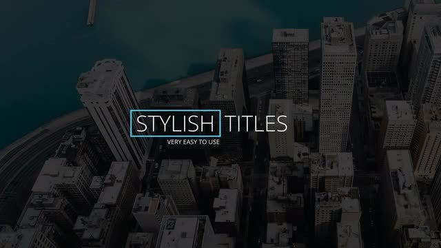 12 Clean Titles: Premiere Pro Templates
