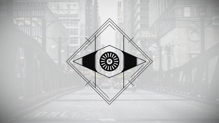 Minimal Eye Logo: After Effects Templates