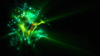 Coil Of Lights Loop: Motion Graphics