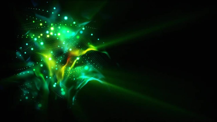Coil Of Lights Loop: Stock Motion Graphics