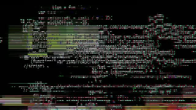 Program Glitch Transitions: Stock Motion Graphics
