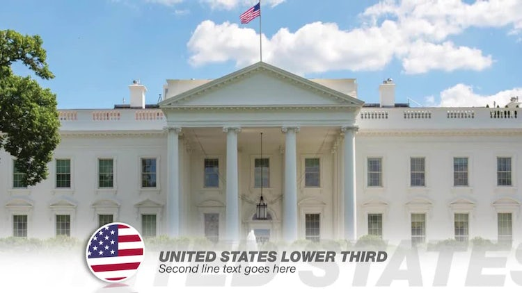 National Lower thirds Graphic Package: After Effects Templates