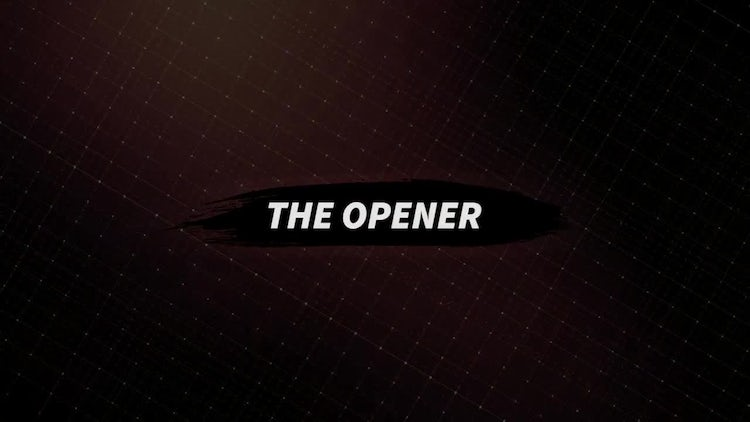 The Opener: Premiere Pro Templates