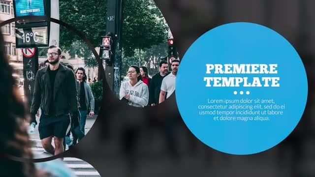 Corporate Circles - Presentation: Premiere Pro Templates