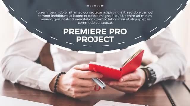 Circle Business - Premiere: Premiere Pro Templates