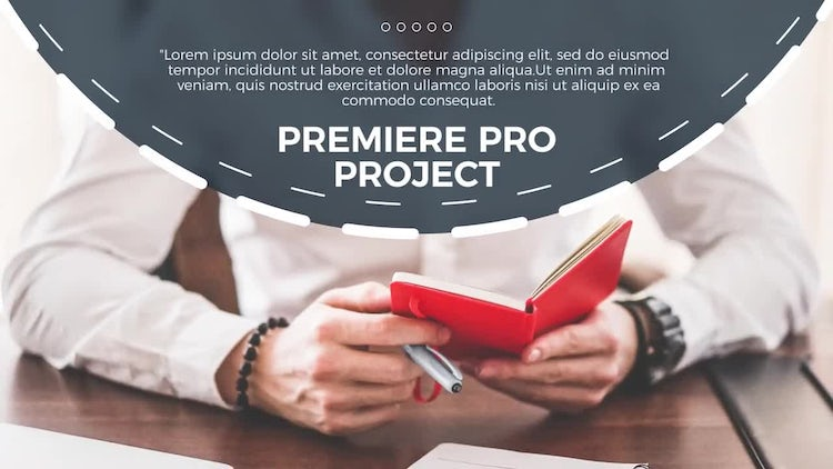 Circle Business - Premiere: Premiere Pro Templates