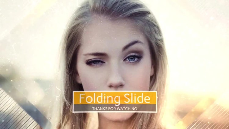 Folding Slide: After Effects Templates