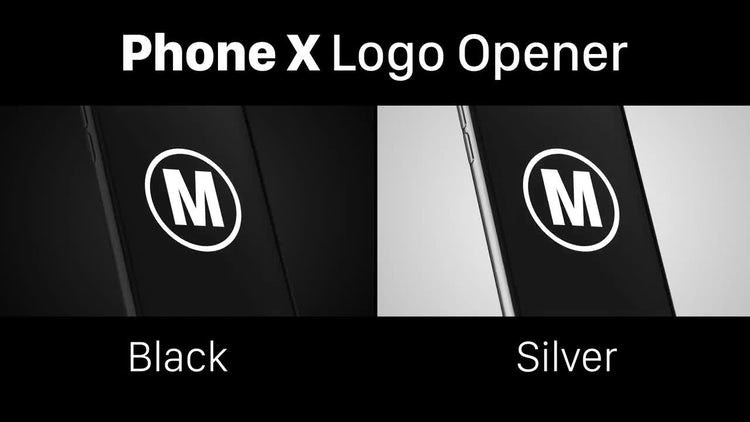 Phone X Logo: After Effects Templates