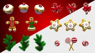 Christmas Pak: Motion Graphics