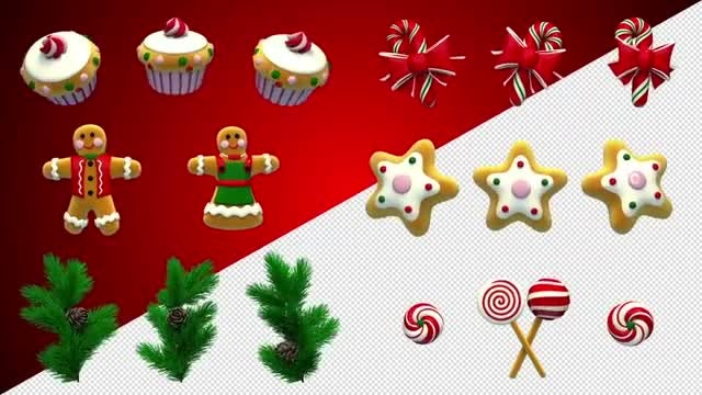 Christmas Pak: Stock Motion Graphics