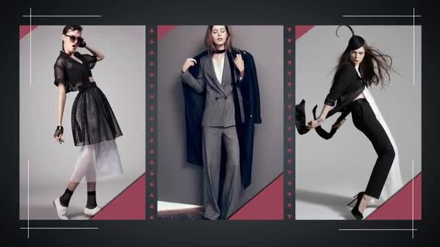 Fashion and Design: After Effects Templates