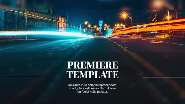 Clean Corporate Promo: Premiere Pro Templates