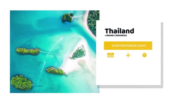 Travel Agency Advert: After Effects Templates