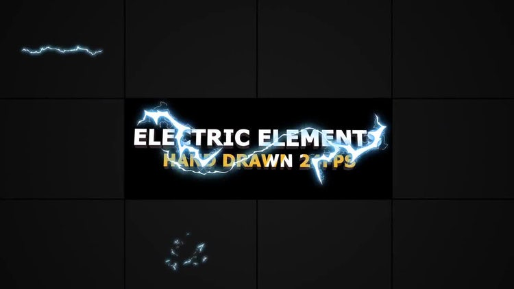 Flash FX Electric Elements: Stock Motion Graphics