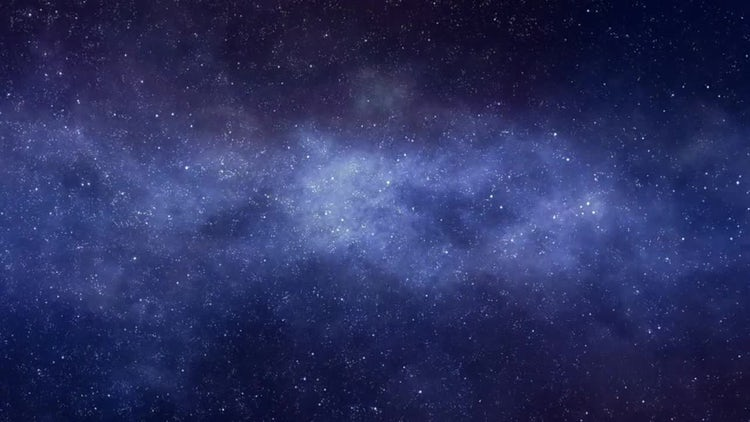 Flying Through the Star Space and Nebulae: Motion Graphics