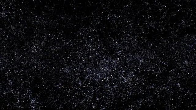 Space with Stars : Stock Motion Graphics