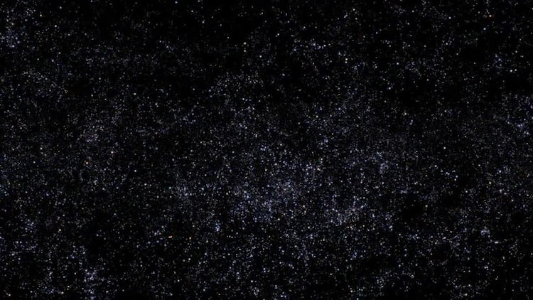 Space with Stars : Motion Graphics