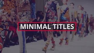 Stylish Titles: Premiere Pro Templates