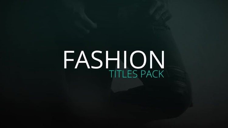 Fresh Fashion Titles: After Effects Templates