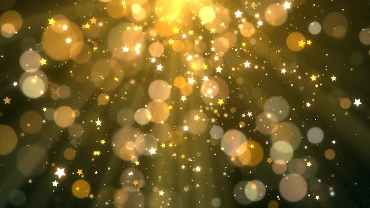 Gold Christmas background: Stock Motion Graphics