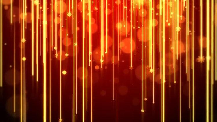 Christmas Lights Streak: Motion Graphics