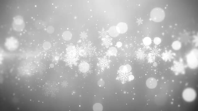 Snowflake Lights: Stock Motion Graphics