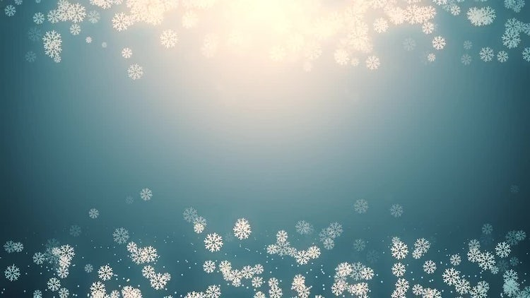 Snowfall Background: Motion Graphics