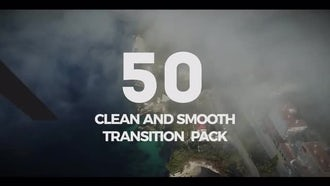 50 Clean Transition Pack: Premiere Pro Templates