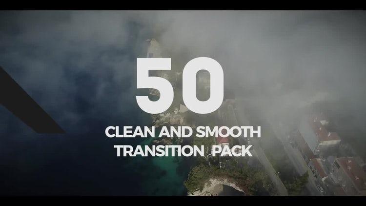 50 Clean Transition Pack: Premiere Pro Templates