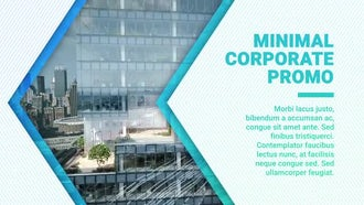 Minimal Corporate Promo: After Effects Templates