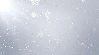 White Christmas background : Motion Graphics