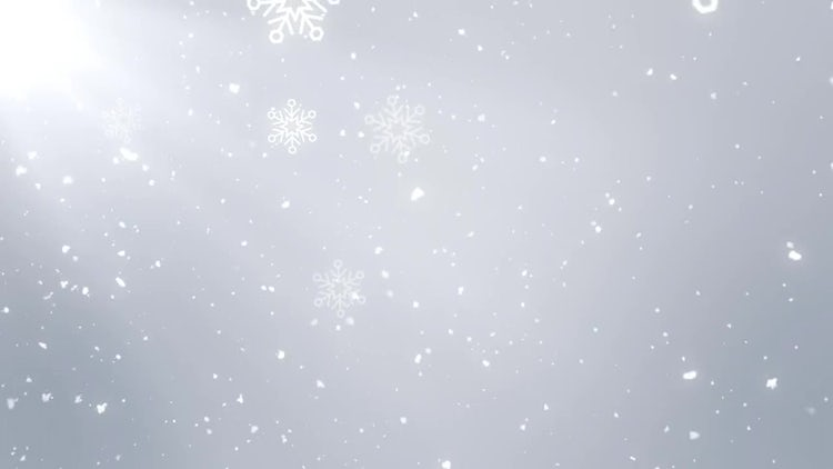 white christmas background stock motion graphics