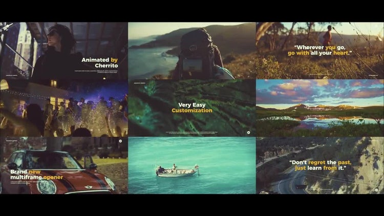 The Slideshow: After Effects Templates
