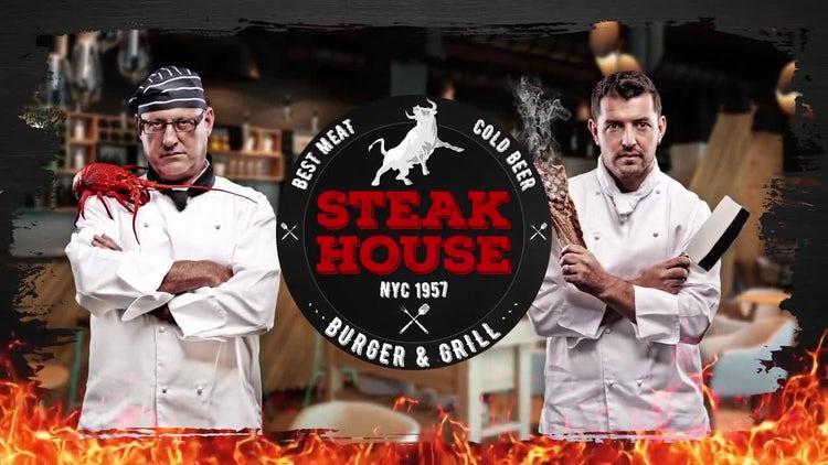 Steak & Burger - Restaurant Promo: After Effects Templates