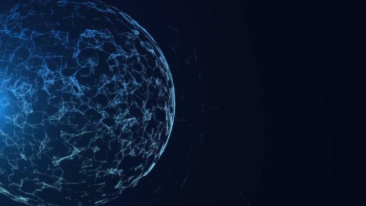 Spherical Plexus Reveal: Motion Graphics